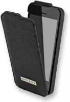Pouzdro FLIP Iphone 5, 5S KOŽENÉ otvírání dolů