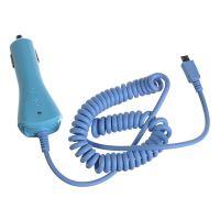 CL autonabíječka CELLY s konektorem microUSB, 1A, modrá