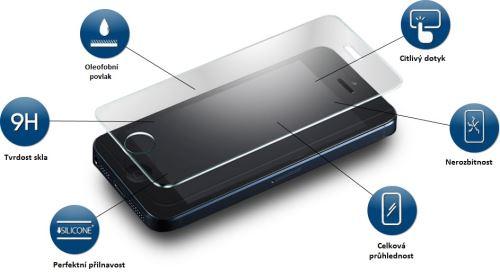 Tvrzené sklo pro Samsung A3 0.33mm
